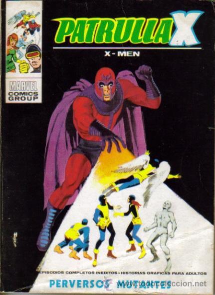 PATRULLA X TACO (VERTICE) 1969-1971 LOTE (Tebeos y Comics - Vértice - Patrulla X)