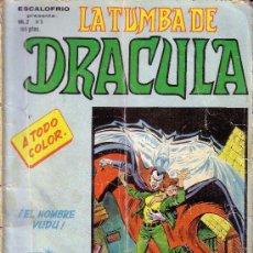 Cómics: LA TUMBA DE DRACULA VOL. 2 Nº 5. Lote 28208132
