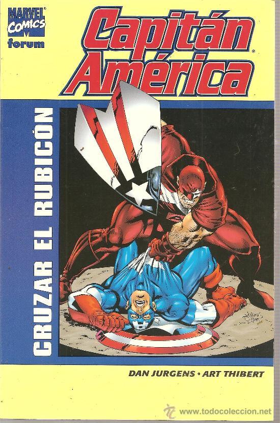 CAPITAN AMERICA CRUZAR EL RUBICON (Tebeos y Comics - Vértice - Capitán América)