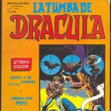 Cómics: ESCALOFRIO V.2 6 - LA TUMBA DE DRACULA - VERTICE - COMIC TERROR. Lote 28245612