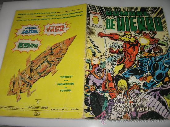 HOMBRE DE HIERRO Nº 8 (Tebeos y Comics - Vértice - Hombre de Hierro)