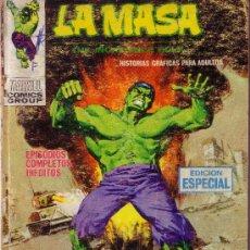 Cómics: LA MASA - EL INCREIBLE HULK - FUEGO CONTRA LA MASA - VERTICE Nº 20 . Lote 28261907
