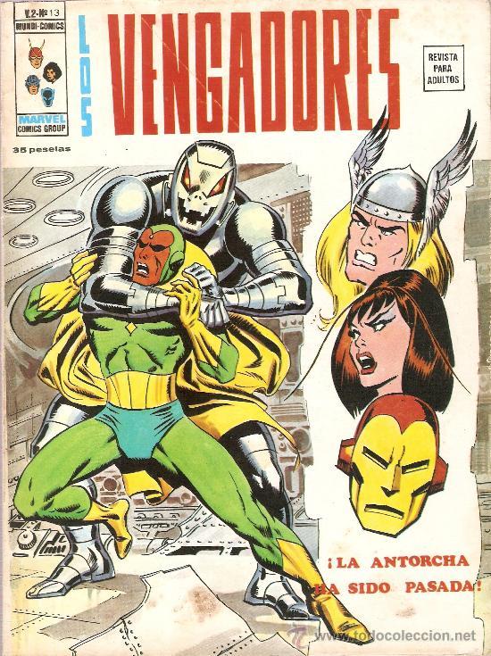 LOS VENGADORES V.2 Nº 13 (Tebeos y Comics - Vértice - Vengadores)