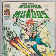 Cómics: GUERRA DE MUNDOS NUMERO 22 V. 2 MUNDI COMICS , EDITORIAL VERTICE. Lote 39375724