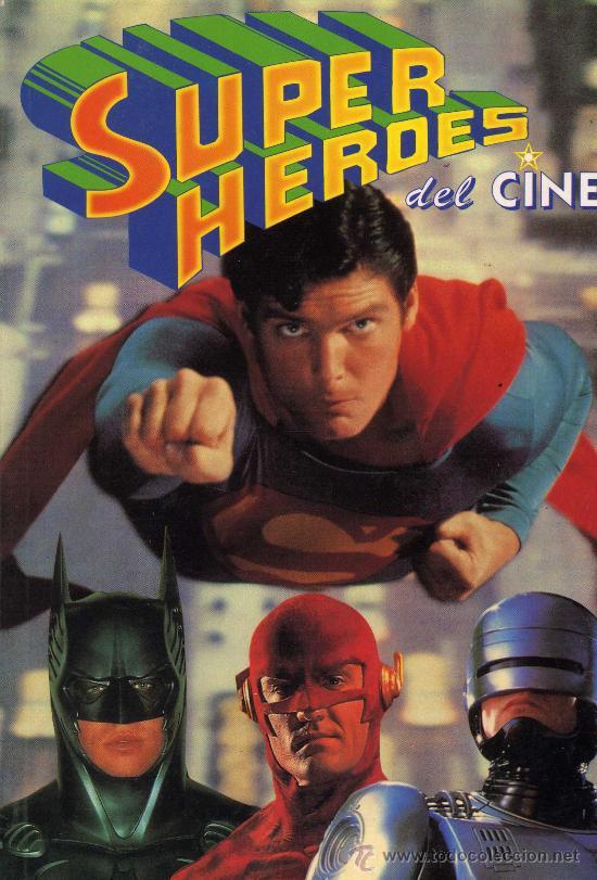 SUPERHEROES DEL CINE (SUPERMAN, BATMAN, ROBOCOP, CONAN, EL CUERVO, BARBARELLA...) (Tebeos y Comics - Vértice - Super Héroes)