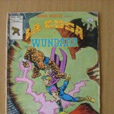 Cómics: SUPER HEROES V.2 Nº 122 LA COSA Y WUNDARR ED. VERTICE. Lote 28676548