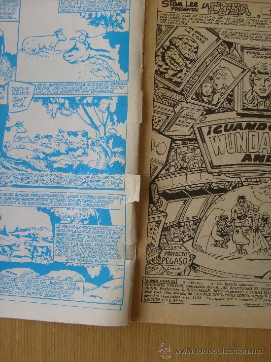Cómics: SUPER HEROES V.2 Nº 122 LA COSA Y WUNDARR ed. vertice - Foto 2 - 28676548