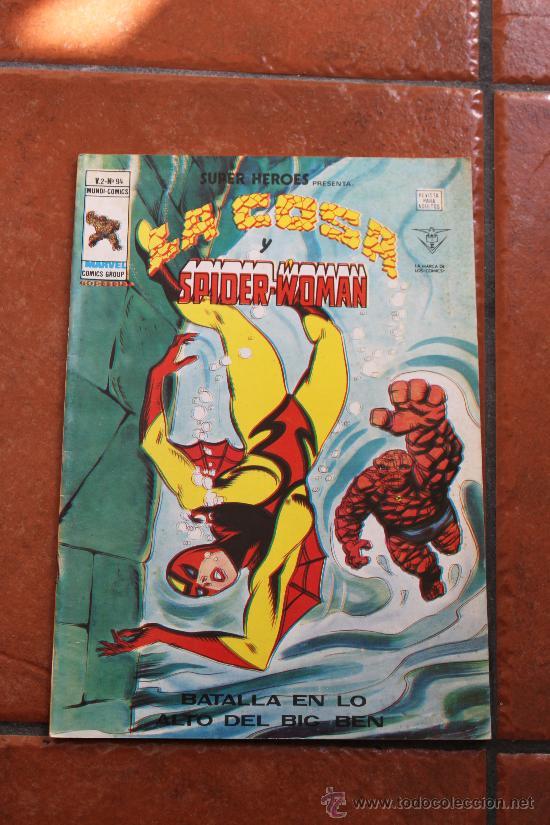 SUPER HEROES LA COSA Y SUPER WOMAN V 2 Nº 94 MUNDI COMICS VERTICE (Tebeos y Comics - Vértice - Super Héroes)