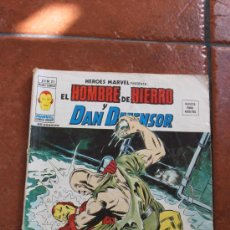 Cómics: HEROES MARVEL EL HOMBRE DE HIERRO Y DAN DEFENSOR V 2 Nº 25 MUNDI COMICS VERTICE. Lote 28702663