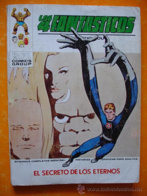 LOS 4 FANTASTICOS VOL 1 Nº 57 EL SECRETO DE LOS ETERNOS . 1973 VERTICE . (Tebeos y Comics - Vértice - 4 Fantásticos)