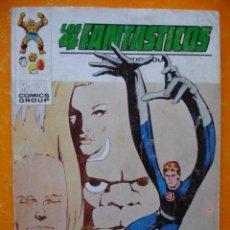 Cómics: LOS 4 FANTASTICOS VOL 1 Nº 57 EL SECRETO DE LOS ETERNOS . 1973 VERTICE .. Lote 28759401