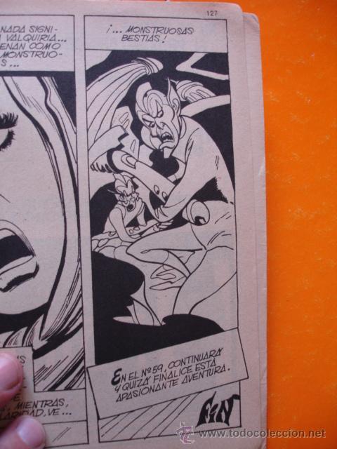 Cómics: LOS 4 FANTASTICOS VOL 1 Nº 57 EL SECRETO DE LOS ETERNOS . 1973 VERTICE . - Foto 4 - 28759401