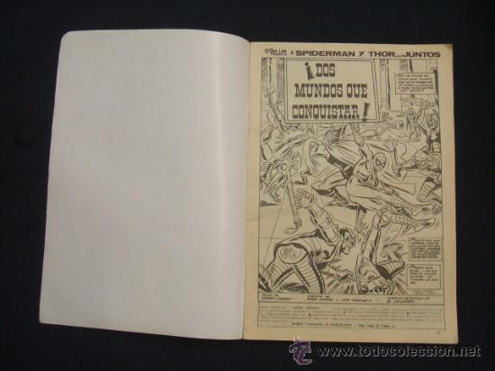 Cómics: SPIDERMAN Y THOR - Nº 3 - MARVEL COMICS GROUP - - Foto 2 - 28954468