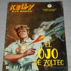 Cómics: VÉRTICE GRAPA BITONO KELLY OJO MÁGICO Nº 1. 10 PTS. 1965. DIFÍCIL!!!!!!!. Lote 28995309