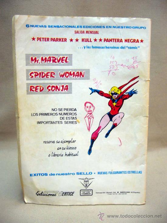 Cómics: COMIC, SPIDERMAN, EL SECRETO DE FLASH THOMPSON, MARVEL, MUNDI COMICS, Nº 52 - Foto 2 - 29153149