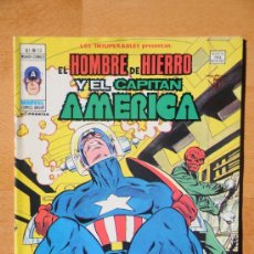 Comics: VÉRTICE MUNDI COMICS V1 Nº 13 LOS INSUPERABLES: EL HOMBRE DE HIERRO Y EL CÁPITAN AMÉRICA. Lote 29188183