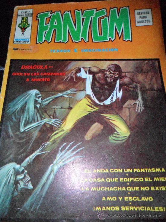 FANTOM, V.2 Nº 7 (Tebeos y Comics - Vértice - Terror)