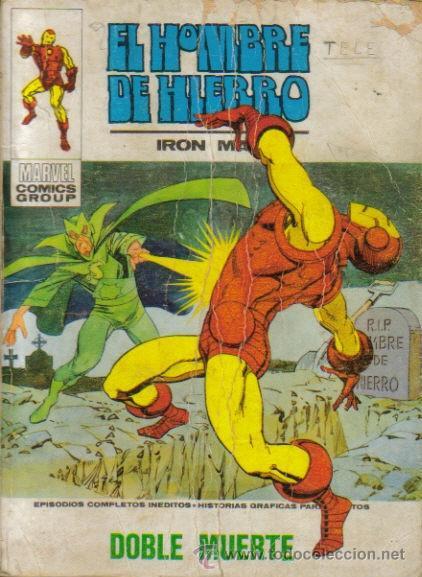 Cómics: EL HOMBRE DE HIERRO V - 1 ( VERTICE ) TACO ORIGINAL 1969 LOTE - Foto 4 - 29262851