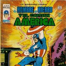 Cómics: EL HOMBRE DE HIERRO Y EL CAPITAN AMERICA.VOL1Nª18. Lote 29321165