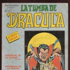Cómics: COMIC • LA TUMBA DE DRÁCULA V2 Nº7 (VERTICE) 50 PAG. Lote 29350879