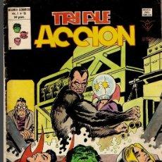 Cómics: TRIPLE ACCION.VOL 1Nº19. Lote 29369552