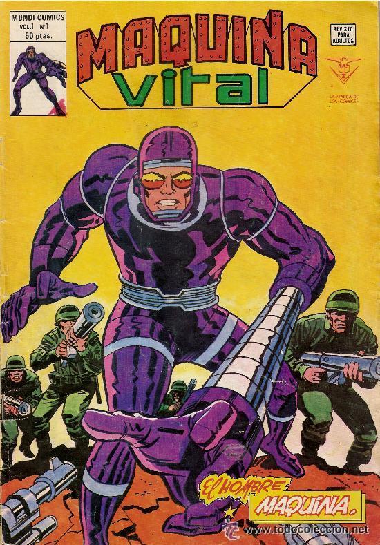 EL HOMBRE MAQUINA Nº1 VOL1 (Tebeos y Comics - Vértice - V.1)