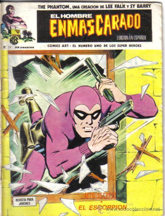 EL HOMBRE ENMASCARADO Nº 28. LITERACOMIC. (Tebeos y Comics - Vértice - Hombre Enmascarado)