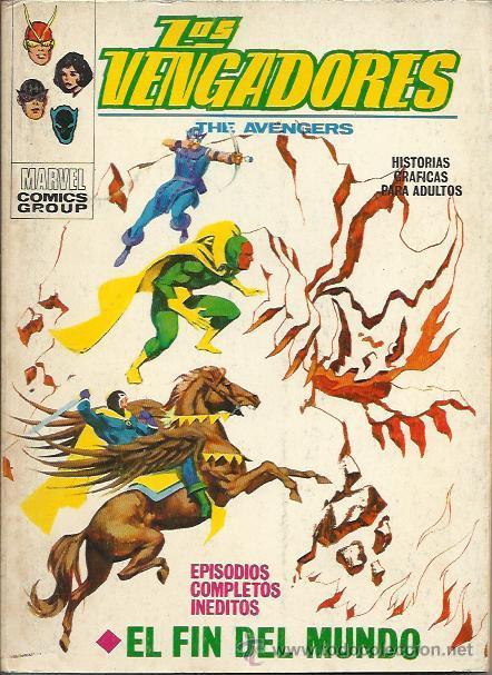 LOS VENGADORES TACO VOL. 1 (VERTICE) ORIGINAL 1969-1974 LOTE (Tebeos y Comics - Vértice - Vengadores)