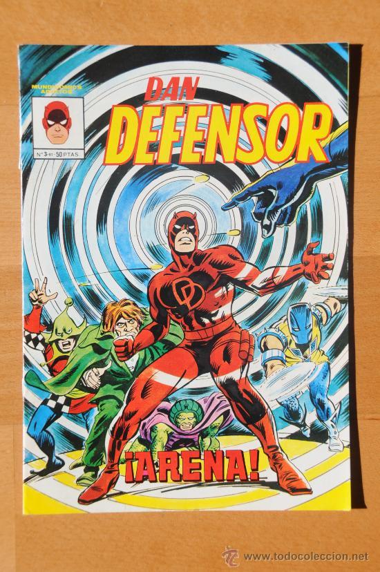 VÉRTICE MUNDI COMICS DAN DEFENSOR Nº 3 (Tebeos y Comics - Vértice - Dan Defensor)