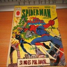 Cómics: SPIDERMAN Y MS.MARVEL SI NO ES POR AMOR VOL.2.-Nº 105 TIENE ESCRITOS A BOLI VERDE EN PORTADAS Y . Lote 29565314