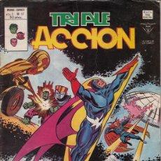 Cómics: TRIPLE ACCION VOL.1 # 17 (VERTICE,1980) - LOS DEFENSORES. Lote 29566453