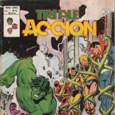 Cómics: TRIPLE ACCION VOL.1 # 15 (VERTICE,1980) - LOS DEFENSORES - DEFENDERS. Lote 29566516