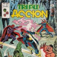 Cómics: TRIPLE ACCION VOL.1 # 10 (VERTICE,1980) - LOS DEFENSORES. Lote 29566836
