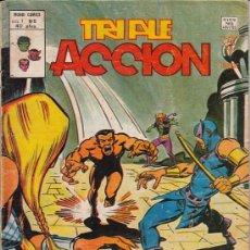 Cómics: TRIPLE ACCION VOL.1 # 5 (VERTICE,1979) - LOS DEFENSORES. Lote 29567064