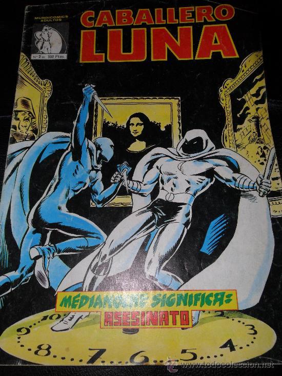 CABALLERO LUNA Nº 2 (Tebeos y Comics - Vértice - Otros)