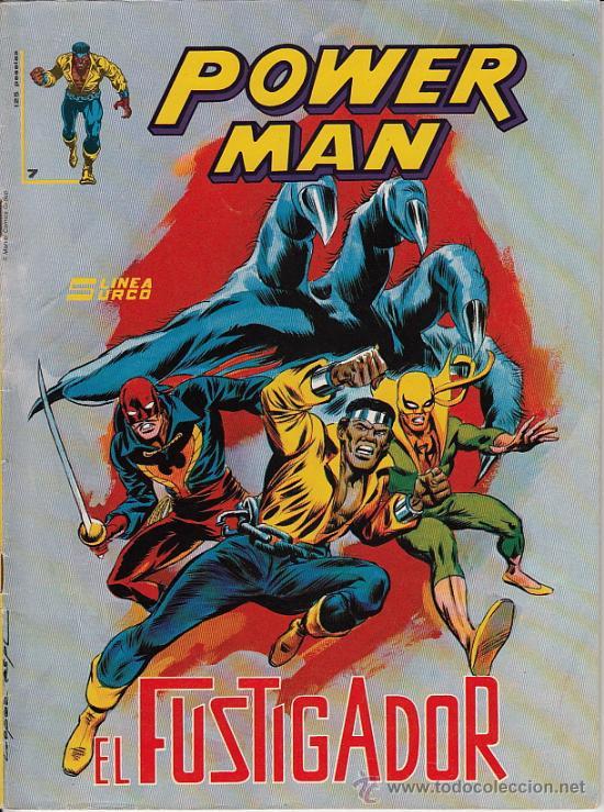 POWERMAN # 7 (EDICIONES SURCO,1983) - LUKE CAGE - IRON FIST - PUÑO DE HIERRO (Tebeos y Comics - Vértice - Surco / Mundi-Comic)