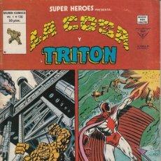 Cómics: SUPER HEROES VOL.2 # 130 (EDICIONES VERTICE,1980) - LA COSA. Lote 29633570