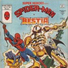Cómics: SUPER HEROES VOL.2 # 126 (EDICIONES VERTICE,1980) - SPIDERMAN - LA BESTIA. Lote 29633583