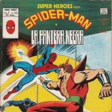 Cómics: SUPER HEROES VOL.2 # 123 (EDICIONES VERTICE,1979) - SPIDERMAN - PANTERA NEGRA. Lote 29633589