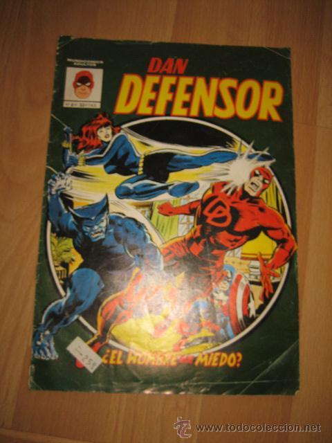 DAN DEFENSOR EL HOMBRE SIN MIEDO Nº 4 VERTICE (Tebeos y Comics - Vértice - Dan Defensor)