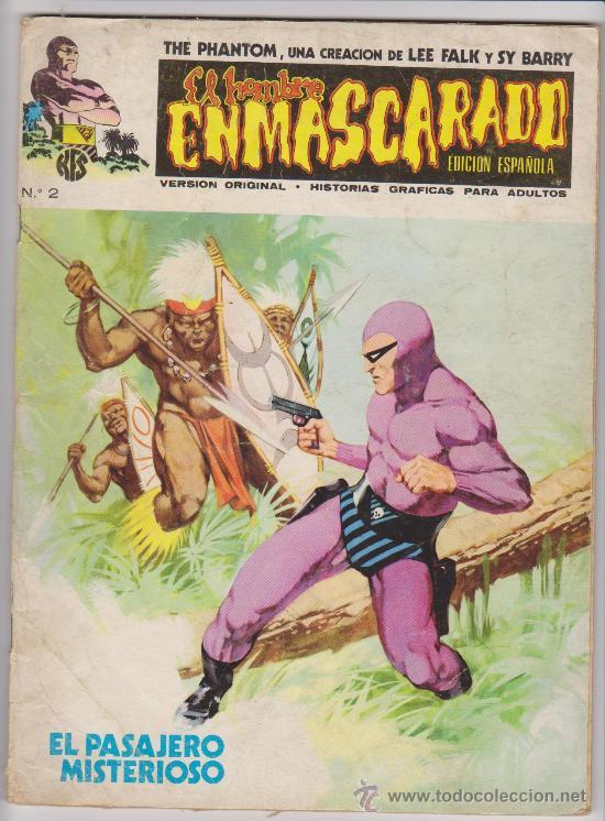 EL HOMBRE ENMASCARADO.VOLUMEN 1. VÉRTICE 1973. LOTE DE 32 EJEMPLARES ENTRE EL 1 Y EL 42. (Tebeos y Comics - Vértice - Hombre Enmascarado)