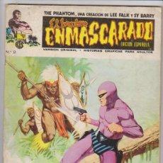 Cómics: EL HOMBRE ENMASCARADO.VOLUMEN 1. VÉRTICE 1973. LOTE DE 32 EJEMPLARES ENTRE EL 1 Y EL 42.. Lote 29681209