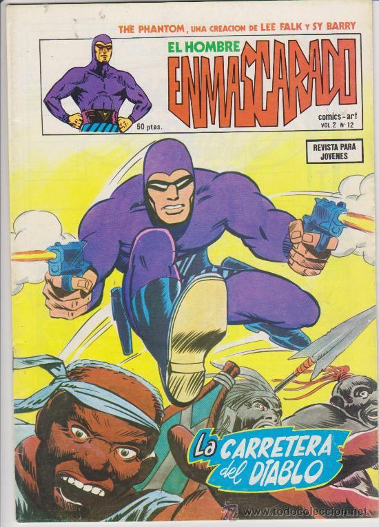 EL HOMBRE ENMASCARADO.VOLUMEN 2. VÉRTICE. Nº 12. (Tebeos y Comics - Vértice - Hombre Enmascarado)