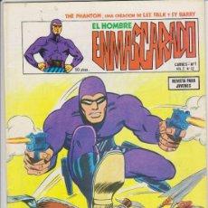 Cómics: EL HOMBRE ENMASCARADO.VOLUMEN 2. VÉRTICE. Nº 12.. Lote 29681539