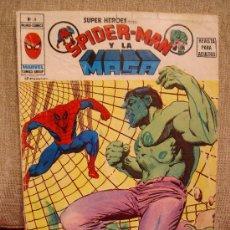 Comics : SPIDERMAN Y LA MASA SUPER HEROES Nº 9 VERTICE VOL 2. Lote 29699105
