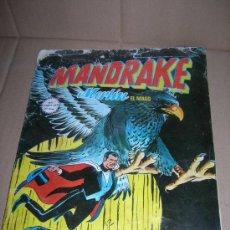 Cómics: MANDRAKE, MERLÍN EL MAGO, Nº 8: EL TIBURON DE ACERO. COMICS ART. EDICIONES VERTICE, AÑO 1980.. Lote 29864816