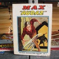 Cómics: MAX AUDAZ - NÚMERO 4 - EDICIONES VÉRTICE 1974. Lote 29904763