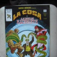 Cómics: LA COSA Y LA BRUJA ESCARLATA ¡ UN CONGRESO DE CORONAS ! VOL 1 Nº 131 EDI . VERTICE ( MUNDICOMICS ). Lote 29934668