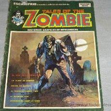 Cómics: VÉRTICE VOL. 1 ESCALOFRÍO Nº 21 TALES OF THE ZOMBIE Nº 6. 1974. 30 PTS.. Lote 29964156