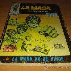 Cómics: EDITORIAL VERTICE , LA MASA Nº 5. Lote 30066245